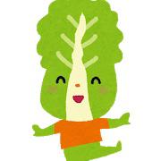 白菜に頼りっぱなしな話。