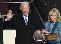 バイデン新大統領が正式就任 史上最高齢 民主党、4年ぶり政権返り咲き