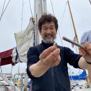 辛坊治郎氏「13キロぐらい痩せた」太平洋横断復路も ヒゲ剃ってあす出発