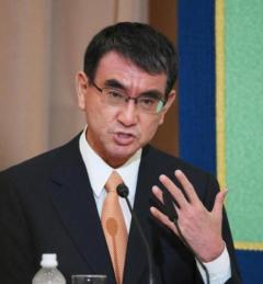 党員・党友の支持 大差48・6%で河野氏がトップ 岸田氏が続く