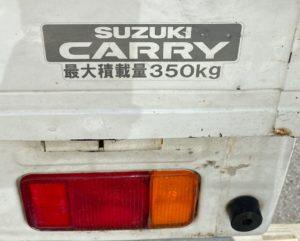 車の解錠 スズキのキャリィ