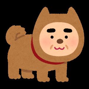 【平和】背後からお犬様が付いてきております