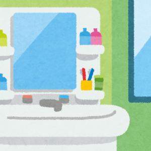 【雑記】ワイ氏。洗面台に落ちている抜け毛の量に震える