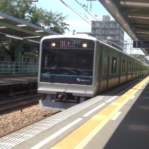 【鉄道ニュース】小田急電鉄3000形3255編成、重要部検査施工でインペリアルブルー帯に