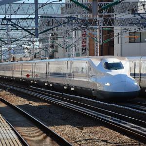 【鉄道ニュース】JR東海N700系2000番台幹トウX14編成が浜松工場へ廃車回送される