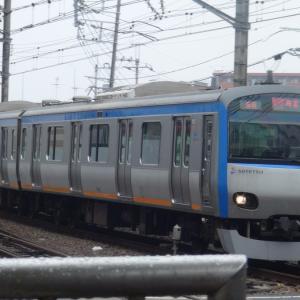 【鉄道ニュース】新たなバリエーション登場!? 相鉄10000系10702編成、のっぺらぼー!
