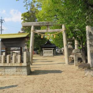 尾張式内社を訪ねて 60 立野神社