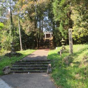 尾張式内社を訪ねて 61 石作神社
