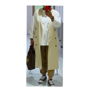 【アベイル】魅惑のトレンチベストコートを着てお買い物❤︎