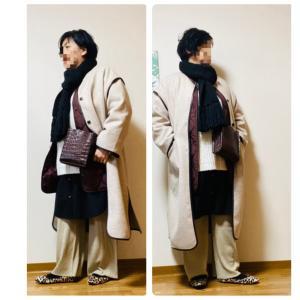 【グレイル】娘ちゃんのパイピングコート借りたコーデ第2弾^_^