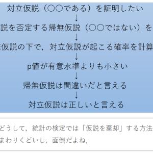 仮説検定の謎【どうして「仮説を棄却」するのか?】
