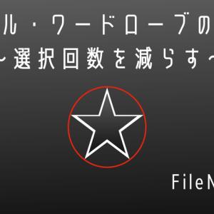 FileNo.13 カプセル・ワードローブのススメ〜選択回数を減らす〜