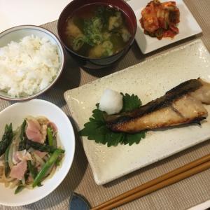 晩ご飯の献立(33)絶品!銀ひらすの西京焼き