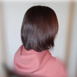 髪をバッサリ切って…その後。