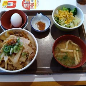 【株主優待】すき家:食べラー・メンマ牛丼(2020)