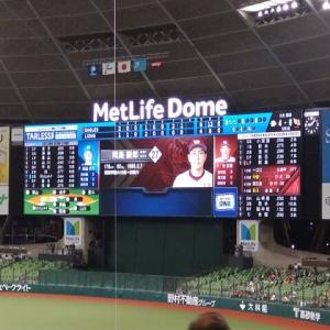 西武対楽天(2021年6月23日) 田中将大登板試合