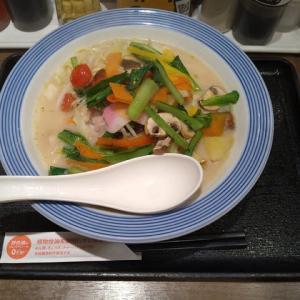 【株主優待】リンガーハット:彩り野菜のちゃんぽん