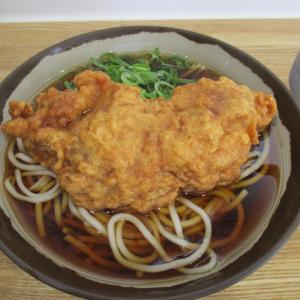 我孫子駅立ち食いそば「弥生軒」のジャンボ唐揚げそばと(名前が変わった)龍ケ崎市駅を訪ねて