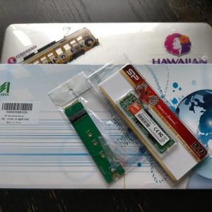 MacBook Air 13インチ(mid 2012)のバッテリーとSSDを交換してみた。