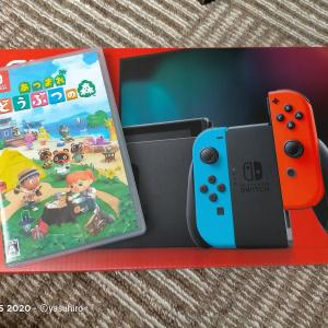 【あつ森】Nintendo Switchがやってきたので、あつ森を始めてみた。