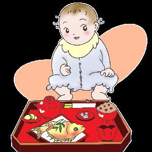 お食い初めを実際にやってみた!食器や食材や衣装の準備を徹底解説!