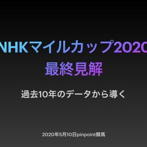 【2020NHKマイルカップ】過去10年データから導く最終見解!!