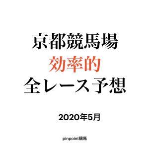 【中央競馬】【京都競馬場 効率的全レース予想】2020年5月23日(土)