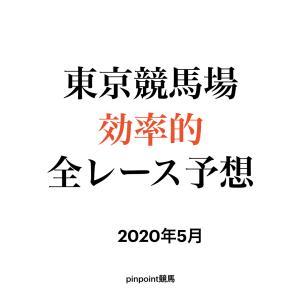 【中央競馬】【東京競馬場 効率的全レース予想】2020年5月24日(日)