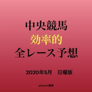 【中央競馬】【新潟競馬場 効率的全レース予想】2020年5月24日(日)