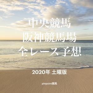 【中央競馬】【阪神競馬場 効率的全レース予想】2020年7月18日(土)