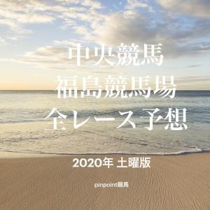 【中央競馬】【福島競馬場 効率的全レース予想】2020年7月18日(土)