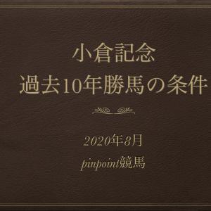 【小倉記念2020予想】過去10年のデータから導く勝ち馬の共通条件!!今年はこの馬!!