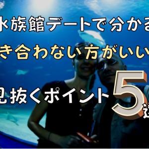 【必見】水族館デートで分かる『付き合わない方がいい人』を見抜くポイント5選