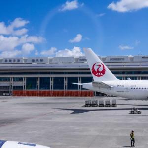 2020年JAL JGCを目指す④〜台風も来たけど羽田空港をハブに長距離チャレンジ。クラスJで名古屋→沖縄→羽田→札幌