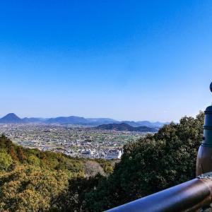 朝9:30にホテルからスタート。金毘羅宮から山頂の奥社・厳魂神社まで、1368段のこんぴら参り