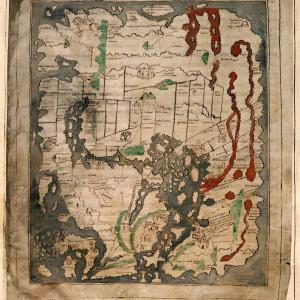アングロサクソンマップ(Anglo-Saxon Mappa Mundi)