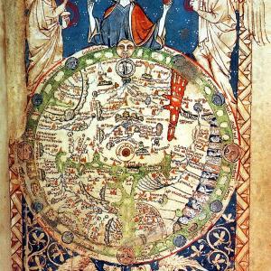 ロンドン詩篇の世界図(Psalter World Map)