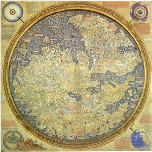 フラ・マウロの世界地図(Fra Mauro's World Map)
