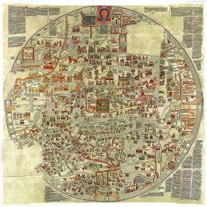 エプストルフの世界図(Ebstorf World Map)