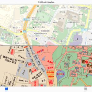 東京の今と昔を比較できる!オススメの古地図サイト紹介