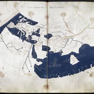 プトレマイオス図(Ptolemy's World Map)