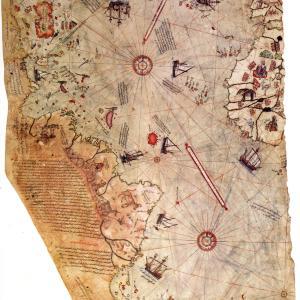 ピーリー・レイースの地図(Piri Reis Map)