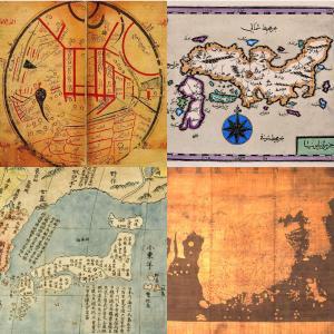 世界の古地図の中の日本① 〜イスラーム・東アジア編〜