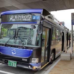 神姫バス 三宮〜ポーアイキャンパス線 ワクチン接種対応バス