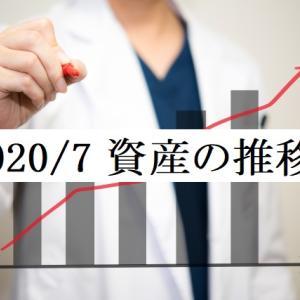 医者4年目の総資産、月ごとの収入と支出 2020年7月分 ~総資産1000万到達~