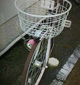自転車ってカゴ次第??
