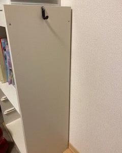 【セリア】のフックを穴をあけずにイケアのトロファストに付ける