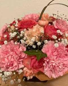 【母の日】お花をもらうとやっぱり嬉しい
