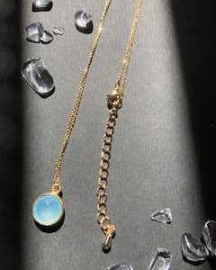 【ハンドメイド】夏用に天然石ネックレスを作る