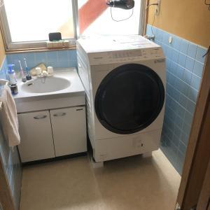 初めてのドラム式洗濯機。Panasonicを買わない理由が無い。